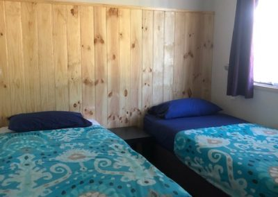 Second bedroom - 2 x single ensembles