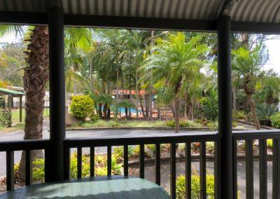Deck & Garden View