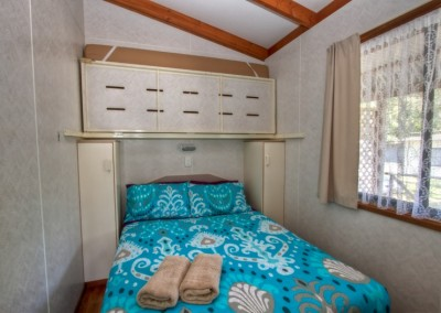 Second Bedroom - Double with fold up  Single Bunk